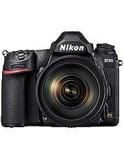 Nikon D780 Spiegelreflex camera + AF-S 24-120mm f/4 lens/objectief - 24,5 MP Full-Frame CMOS sensor, Perfect voor foto en 4K video, hybride AF-systeem, 2 kaartslots, VBA560K001, zwart