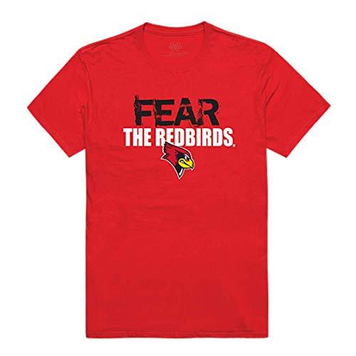 (Illinois State University NCAA Fear College Tee t Shirt, X-Large)