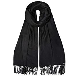 SOJOS Womens Large Soft Cashmere Feel Pashmina Shawls Wraps Winter Scarf SC304