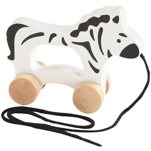 Hape Wooden Toddler Push and Pull Walking Toy