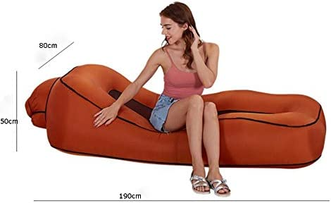 TongN-Sillones Sofá Cama Inflable Lazy Sofá Playa al Aire ...