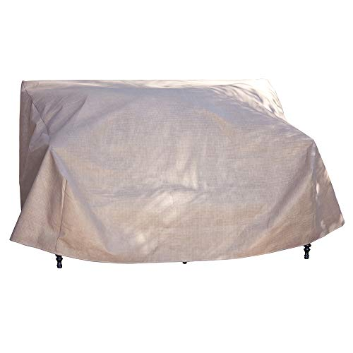Duck Covers Elite Patio Loveseat Cover with Inflatable Airbag to Prevent Pooling, 54-Inch by Duck Covers
