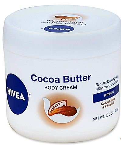 3 pack of Nivea 15.5 oz. Cocoa Butter Body Cream for Dry Ski