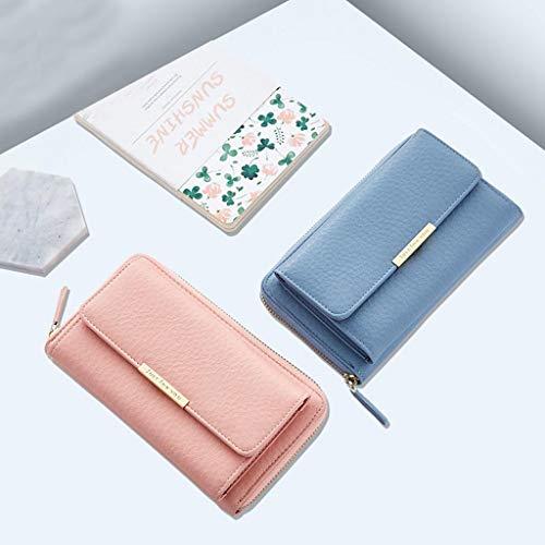 Femmes Pochette Dames Pink Tout Fourre Bandoulière Sac À Téléphone Messenger Senoow À Main Bandoulière Portable Sac d6w5Fdq