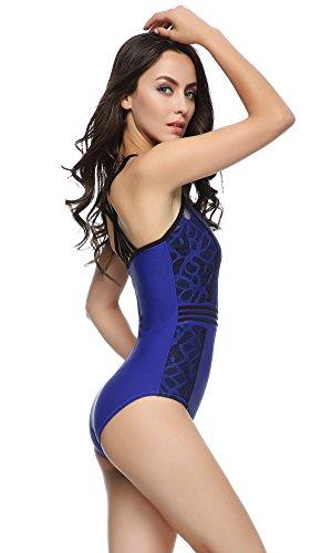 FIGRACE Moda inspirada en el traje de baño de una pieza del traje MORADO