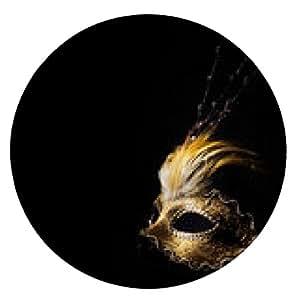 alfombrilla de ratón Máscara veneciana - ronda - 20cm