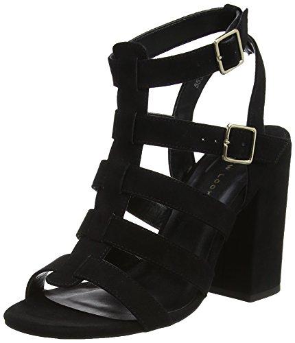 New Look WoMen Valentina Open Toe Heels Black (Black 1)