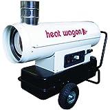 Heat Wagon HVF110 Oil Indirect Fired Heater, 110000 Btu/Hr, 120V