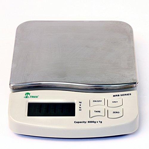 (Tree MRB-1200 Mid Resolution Balance Precision Compact Digital Scale 1200 Grams x 0.1)