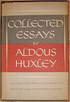 1 aldous complete essay huxley vol