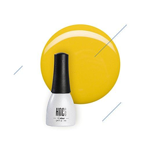 NadiaGel HNC Non-Toxic Soak Off UV LED Gel Nail Polish Temple Star - Shiny Yellow - Temple Uv