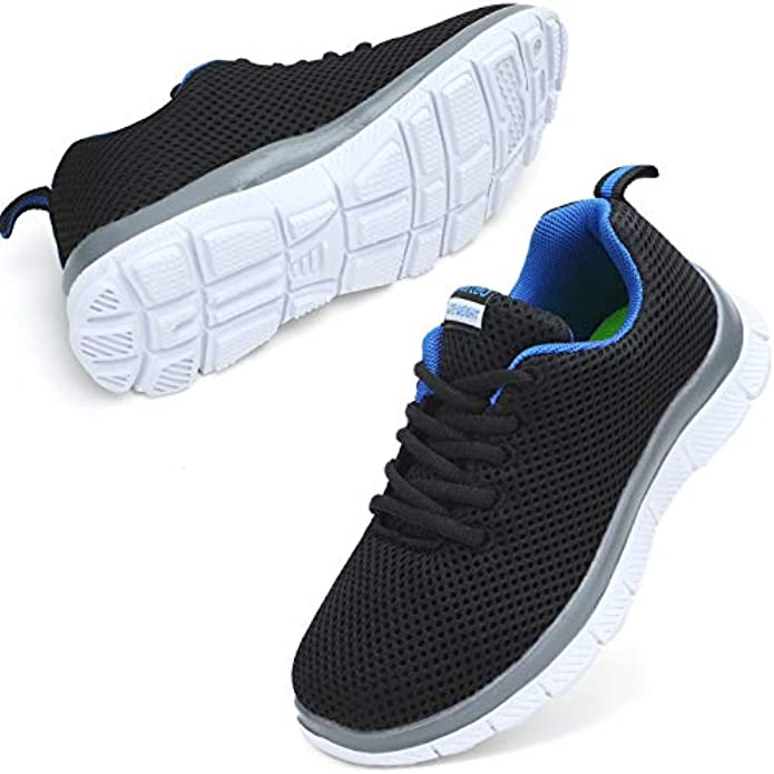 nerteo Kids Sneakers Lightweight Boys/Girls Tennis Running Shoes