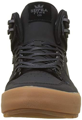 Collo Cw Vaider A Alto Sneaker black black Supra 035 Nero Uomo gum wHIR1qRx5