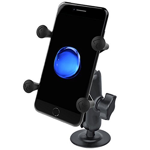 RAM Flex Adhesive Mount with Universal X-Grip(TM) Cell Phone Holder by RAM MOUNTS