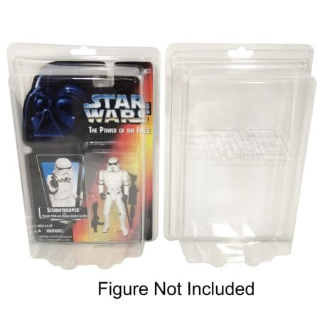 Elite Collector Supplies Elite 10 Pack of Plastic Protector Cases for Most 3 3/4