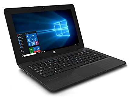 Micromax Canvas Lapbook L1161 11.6-inch Laptop (Intel Atom/2GB/32GB/Windows 10), Black Laptops at amazon