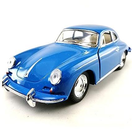 Amazoncom Kinsmart 1962 Porsche 356 B Carrera 2 Blue Color