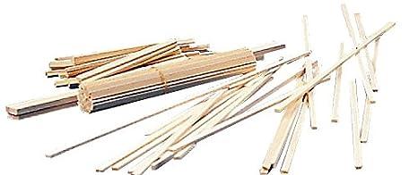 Alvin BS1812 Balsa Wood Strips 1/8 x 1/2 National Cellular