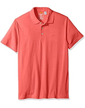 Men's Short Sleeve Solid Performance Polo Shirt