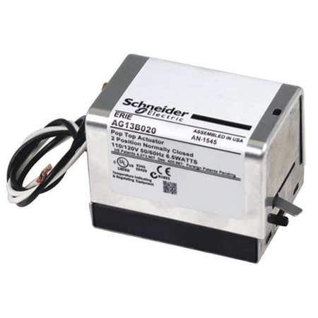 Schneider Electric AG13B020 Tac Erie Spring Return Two-Position General Close-Off Actuator Without End Switch, Normally Closed