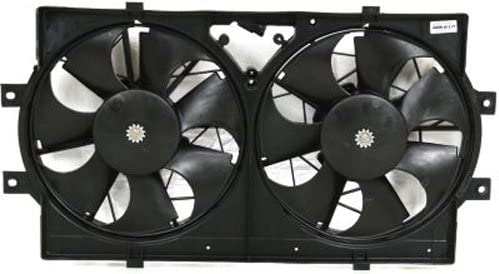 Dodge Intrepid Chrysler Concorde CH3115108 Crash Parts Plus Dual Cooling Fan for Eagle Vision