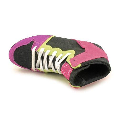 C1RCA WOMENS Circa PINK LIME Shoes BLACK Sz VULC 6 SLIM Skate 99 g6pqgFw