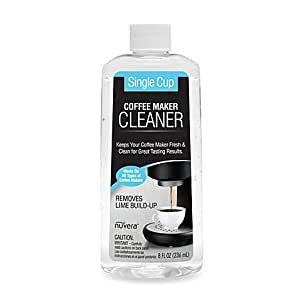 Amazon.com: Nuvera 8-Ounce Single Cup Coffee Maker Cleaner and Descaler (1): Kitchen & Dining