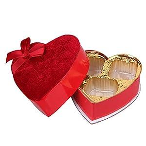 Chocolate GIFT BOXES wholesale 15PC Heart Shaped Jewel Wedding ...
