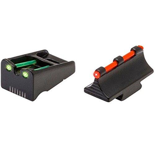 TRUGLO TG110W Fiber Optic Sight Set - Remington Red/Green (Best Slug Barrel For 870)