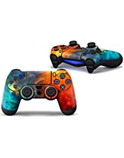 SKINOWN PS4 Controller Skin Cosmic Nebular Sticker Vinly Decal Cover for Sony Playstation 4 DualShock Wireless Controller