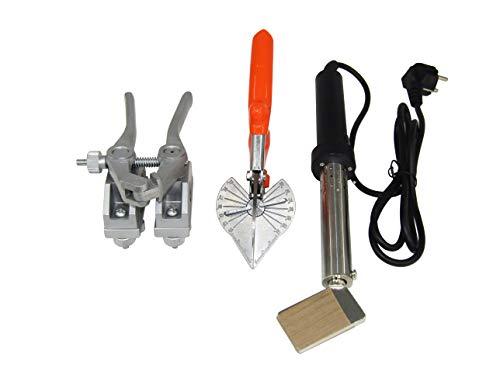 JIAWANSHUN Round Belt Welding Machine Round Belt Connector Round Belt Welder with Welding Clamp Pliers&Cutter ()