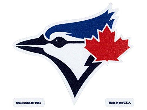 "MLB Toronto Blue Jays Perfect Cut Color Decal, 4"" x 4"""