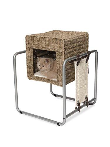 Vesper V-Cube 52061 - Mueble para Gato, diseño de Malas Hierbas
