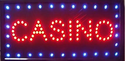 CHENXI Casino Beer Pub Games Poker Bar LED Sign Neon Light sign Display 4.851,4/cm Innenbereich Modern 48 X 25 CM B
