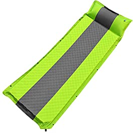 GALSOAR Camping pad, Extra 2 Inches Thickness Comfortable Self Inflating Sleeping Pad, Lightweight, Portable Sleeping Mat for Backpacking, Car Traveling and Hiking