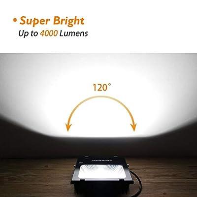 LEPOWER LED Flood Light, Super Bright Outdoor Work Light,IP66 Waterproof,Outdoor Work Lights