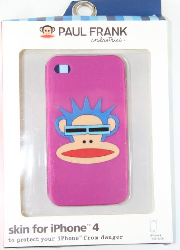Paul Frank Iphone 4 / 4gs Silicon Case Light Purple Punk ()