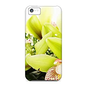 (Smf19745oXDk)durable Protection Cases Covers For Iphone 5c(gorgeous Green)