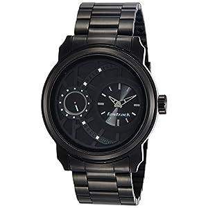Fastrack Analog Black Dial Men's Watch NM3147KM01 / NL3147KM01