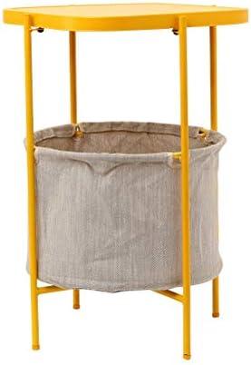 Online Winkel Metal Salontafel Wasbaar Opbergmand Vierkante Salontafel Woonkamer Balkon Leisure Rack Eenvoudig Te 41X41X61.5CM Monteren 4.10 dlm2Vgu