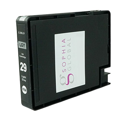 Sophia Global Compatible Ink Cartridge Replacement for PGI-29 (1 Light Gray)