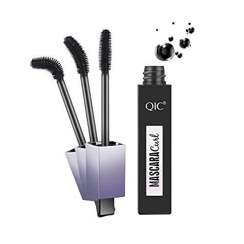 Pinleg Mascara Volume Black Waterproof Curling and Thick Eye Eyelashes Makeup Very Black Volumizing Lash Princess False Lash Effect Mascara
