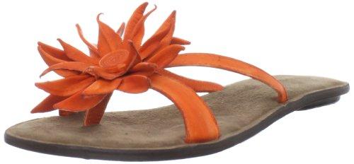 Chocolat Blu Women's Tess Thong Sandal, Orange, 37 M EU/6.5 M (Blu Thongs)