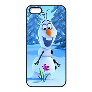Custom High Quality WUCHAOGUI Phone case Frozen Oalf - Let is Go Protective Case For Apple Iphone 5 5S Cases - Case-19