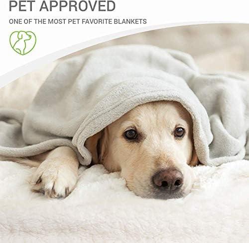Cobija para perro – Cobija para mascotas pequeña, medianas, grandes perros y gatos – cálida, esponjosa y suave 7