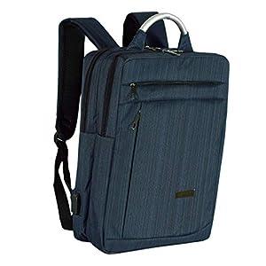 Storite 15.6 Inch Laptop Backpack Bag for College School Travel (Dark Blue, 40 x 30x 12 cm)