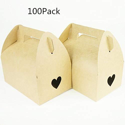 Jiaxingo 100Pack Cajas de Regalo de Regalo - Caja de Papel ...