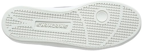 Nero White Skechers Donna Madison Sneaker Ave Bkw Black SwIzg