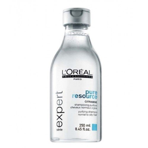 L'oreal Serie Expert Pure Resource Shampoo for Unisex, 8.45 Ounce