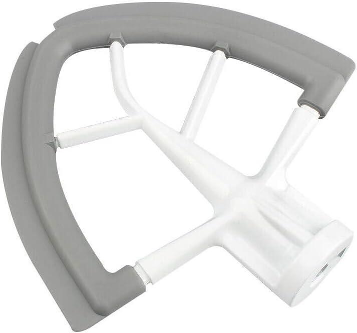 StaHomily Flex Edge Beater 4.5-5 Quart Tilting Head Vertical Mixer Accessories Flex Edge Mixer for Kitchen Useful Mixer Accessory